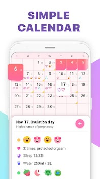 Period Tracker, Ovulation Calendar & Fertility app