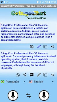 Translator Voice-Text GringoChat Professional Plus