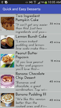 Quick and easy dessertsfree recipe app by amin and co 5 app in quick and easy dessertsfree recipe app forumfinder Images