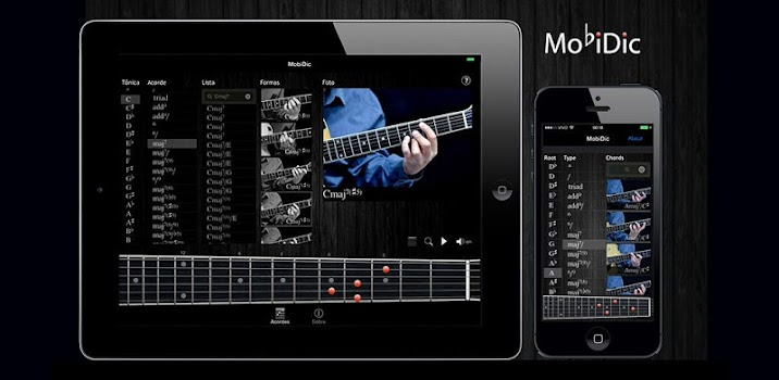 MobiDic - Guitar Chords - by Authentic Software - Music & Audio ...