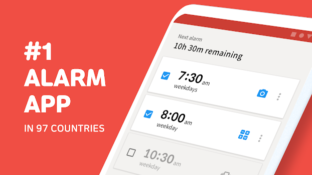 Alarmy (Sleep If U Can) - Mission Alarm Clock App