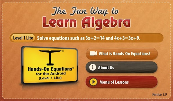 The Fun Way to Learn Algebra