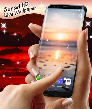 Sunset Hd Live Wallpaper Free By Hd Live Wallpapers And Clocks