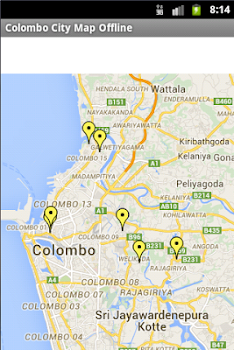 Colombo City Maps Offline by MAP BAZAAR Travel Local Category