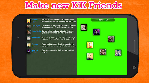 Chat Friend for Kik