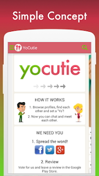 Free Dating App - YoCutie - Flirt, Chat & Meet
