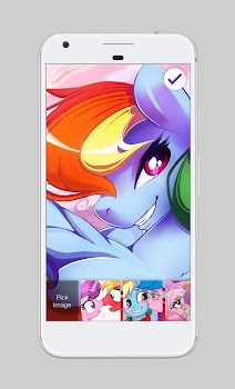 Pony Love Valentine Rainbow Wallpaper Lock Screen By Intellect Pi