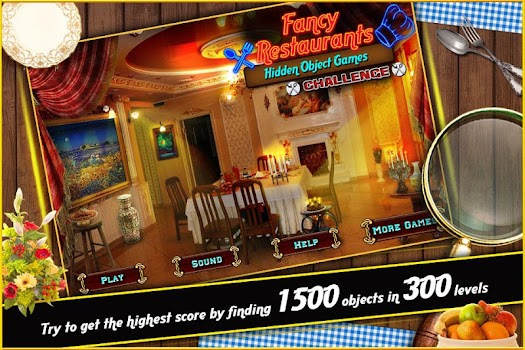 Hidden Object Game Fancy Restaurants Challenge 312 By Hidden