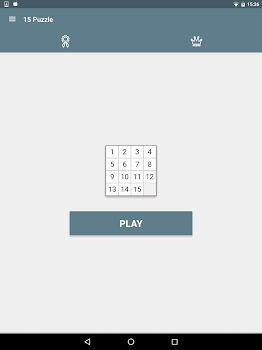 15 Puzzle (Game of Fifteen)