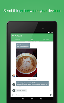 Pushbullet - SMS on PC