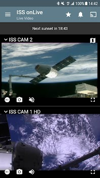 ISS on Live: HD View Earth Live