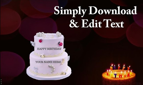 Name On Birthday Cake 2019 Stylish Name On Cake By
