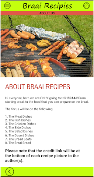 South African Braai Dishes V1
