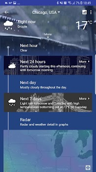 Weather forecast - weather widget, radar & alert.