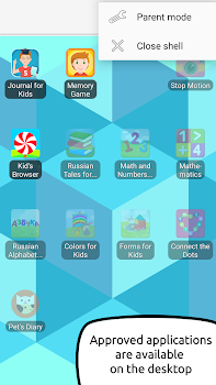 Kid's Shell - Safe Kid Launcher - parental control