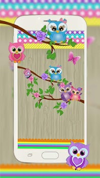 Fanciful Owl Live Wallpaper