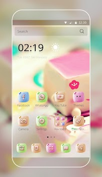 Marshmallow Candy Face Theme