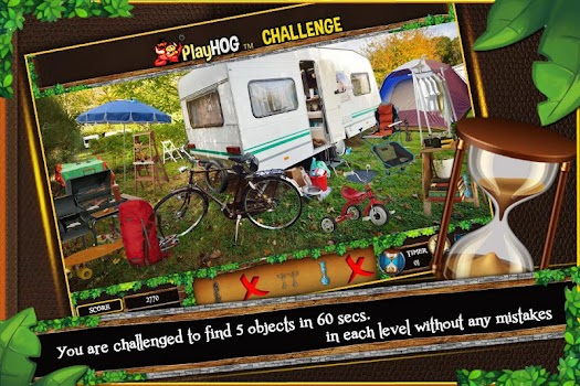 Hidden Object Game Camping Near Me Challenge # 307
