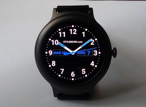 Analog Watch Face Plus-7 for Wear OS by Google