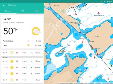 Embark - Marine Charts. GPS navigation for Boating