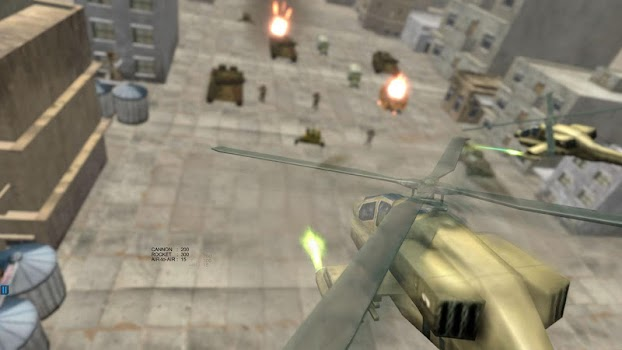 Helicopter Simulator 3D Gunship Battle Air Attack