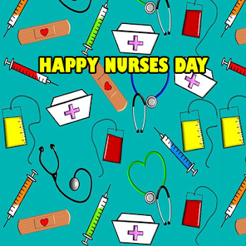 Happy nurses day greeting card by bee studio7 lifestyle category happy nurses day greeting card m4hsunfo