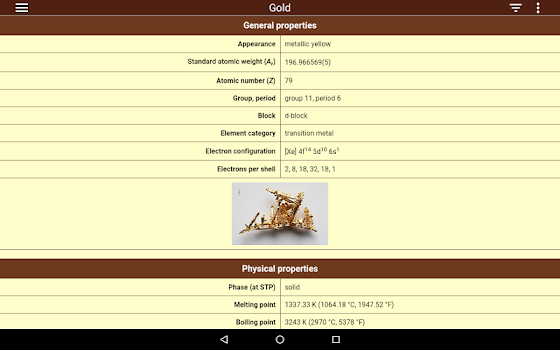 Periodic table 2018 pro by august software 3 app in periodic periodic table urtaz Images