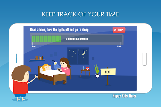 Happy Kids Timer – Morning & Evening Chores