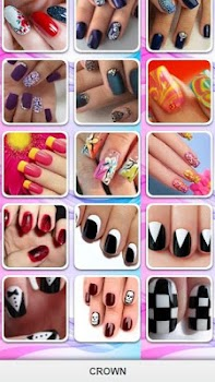 New Nail Art Models By Crown Art Design Category 0 Reviews