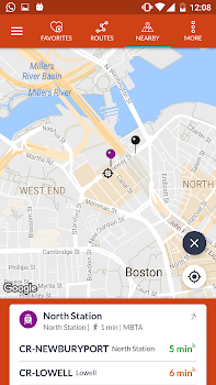 Boston Transit: MBTA Bus, Subway & Rail Tracker
