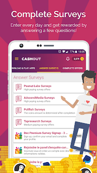 CashOut: Earn Cash and Gift Cards