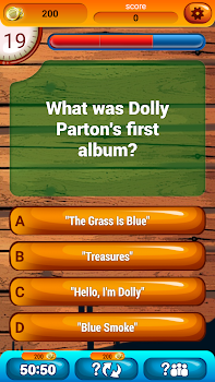 Country Music Fun Game Quiz