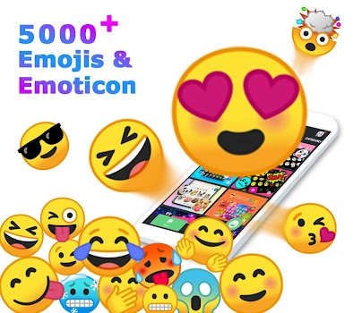 ❤️Emoji keyboard - Cute Emoticons, GIF, Stickers