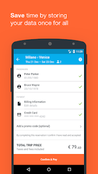 Wanderio: Train, Flight and Bus tickets in Italy