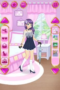 Anime Dress Up - Games For Girls