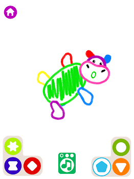 Learning Kids Painting App! Toddler Coloring Apps - by Bini Bambini ...