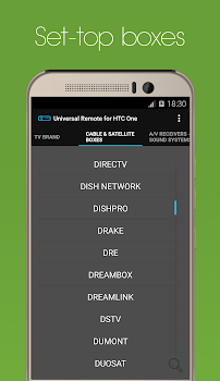 Universal Remote for HTC One