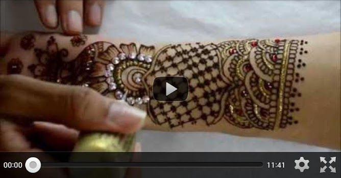 Mehndi Fingers Crossword : Mehndi design videos by prklin apps lifestyle category