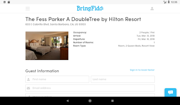 BringFido - Pet Friendly Hotels