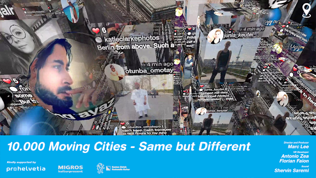 10.000 Moving Cities – Same but Different