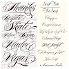 Calligraphy Lettering Styles