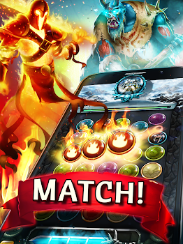 Heroes of Magic: Match 3 Puzzle RPG Games