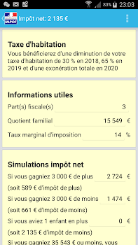 Calcul Impôt 2019 By Zenapp Finance Category 661 Reviews