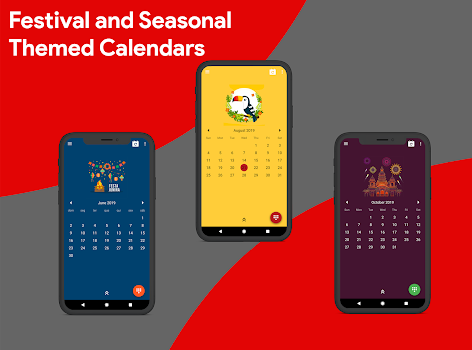 Calendar 2019 - Diary, Holidays and Reminders