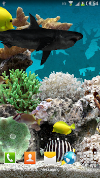 3D Aquarium Live Wallpaper - by Amax LWPS - Personalization Category