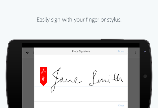 Adobe Fill & Sign: Easy PDF Form Filler