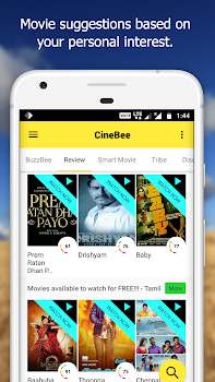 CineBee: Movie Ratings, Reviews, Trailers & News
