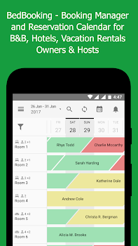 BedBooking: Booking Manager Reservation Calendar