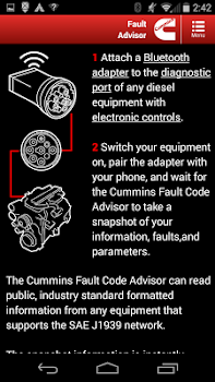 Cummins Fault Code Advisor - by Cummins Inc - Maps & Navigation