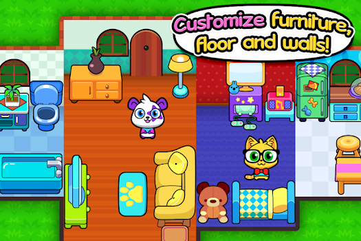 Forest Folks - Cute Pet Home Design Game